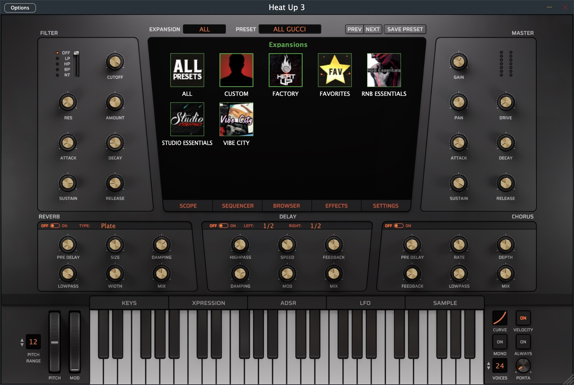 Initial Audio Vibe City Heatup3 Expansion for mac(城市氛围音色库)